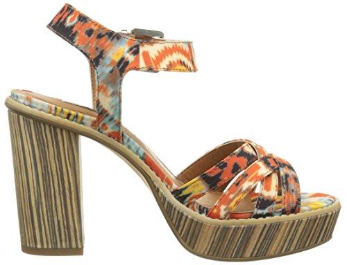 Tamaris 28333 - Sandalias con plataforma Mujer Varios Colores - Mehrfarbig (BOHO PRINT 955)
