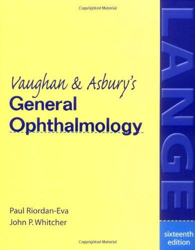 Vaughan & Asbury's General Ophthalmology
