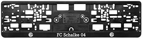 Kennzeichenhalter Kennzeichenverstärker Fc Schalke 04 S04 Sport Freizeit