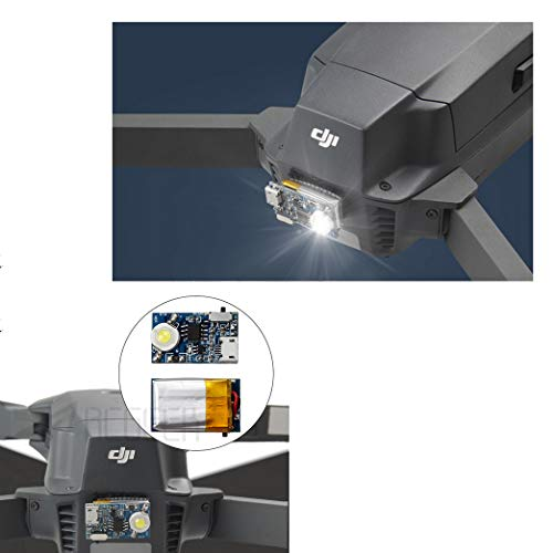 Strobe Light LED Flash Light Night Cruise Kit Compatible DJI Mavic 2 Pro  Mavic 2 Zoom Mavic Pro Mavic Air Spark Phantom 4 Phantom 3 Phantom 2  Inspire