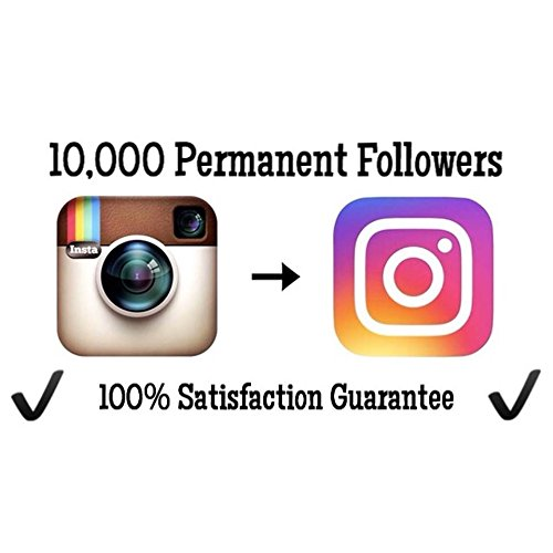 Buy 10 000 Permanent Instagram Followers    100  Money Back Guarantee