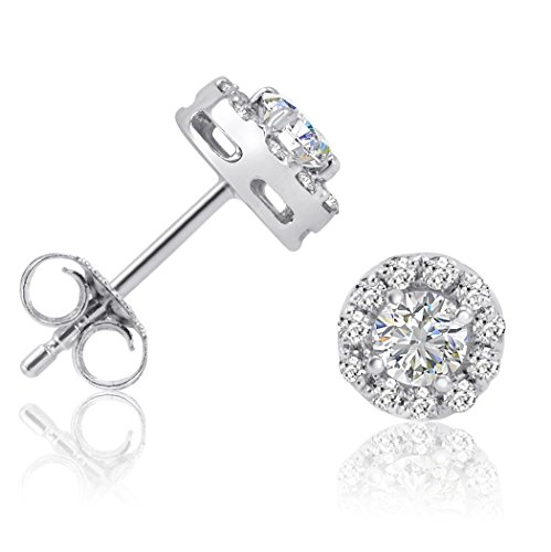 AGS Certified 3/4ct tw. Halo D