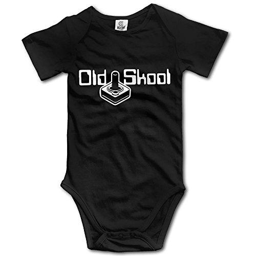 SmallHan Old Skool Unisex Particular Newborn Baby Romper Baby Boy Play Suit Newborn Black