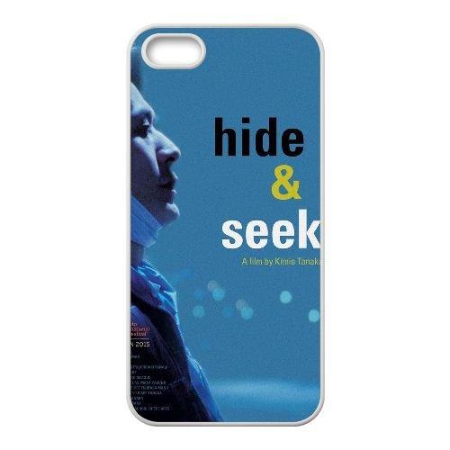 S9M50 Hide & Seek Haute Résolution Affiche I7R5MU coque iPhone 5 5s cellule de cas de téléphone couvercle coque blanche DN0TMX6PV