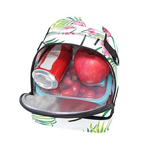almuerzo térmica de con escuela estampado hombro Bolsa para floral el la para ajustable con pincnic correa para el dtRxcqf