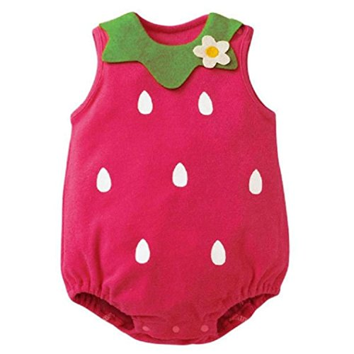 [Lovely Newborn Kids Baby Boy Girl Romper Jumpsuit (Age:6-12M, Hot Pink)] (Horse For Sale Costume)