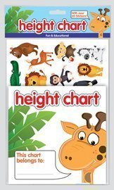 KIDS ALPHABET HEIGHT CHART ALPHABET & ARROW STICKERS RDI Products