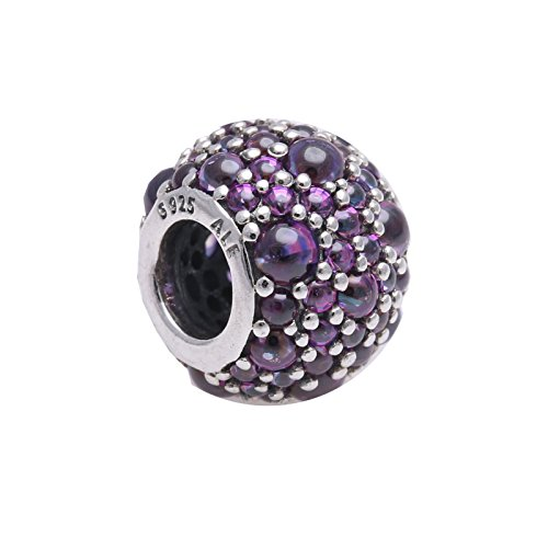 "Pandora Element ""Pavé Kugel violett"""