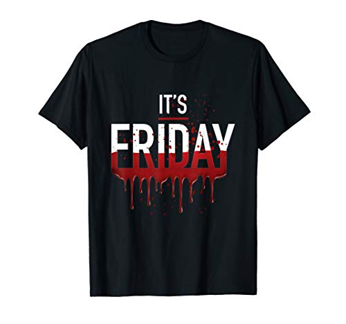 It's Friday Funny Horror Halloween Gifts Costume Idea ()