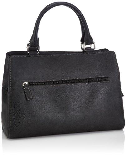 Gerry Weber TD Kurzgriff Shopper - Bolsa de la compra de material sintético mujer negro - Schwarz (black 900)