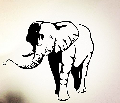 African Elephant Rubber Stamp - Elephant Rubber Stamps