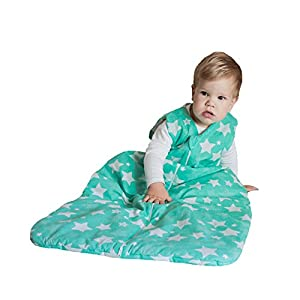 Baby Sleeping Bag - Organic Hemp Linen Cotton – 4 Seasons Wearable Sack Large
