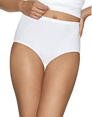 Hanes Womens Ultimate Comfort Cotton 5-Pack Briefs