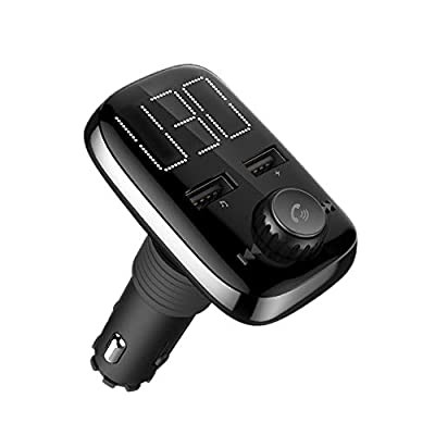 Renogy Bluetooth FM Transmitter for Car Radio MP3 Player Hand Free Design Output 5V 3.4A AUx Port Micro SD Cards USB Flash Drive Support MP3 WMA WAV Format: MP3 Players & Accessories
