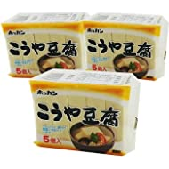 Freeze-dried Tofu from HOKKAIDO [Imported with SAIKO JAPAN Coupon Gift] (3 packages)