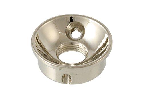 (Allparts AP-5270-001 Nickel Retrofit Jackplate )