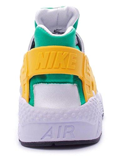 Nike Air Huarache Mens Scarpe Da Ginnastica 318429 Scarpe Da Ginnastica (us 7, Lucido Verde Università Oro Grigio Lupo 302)