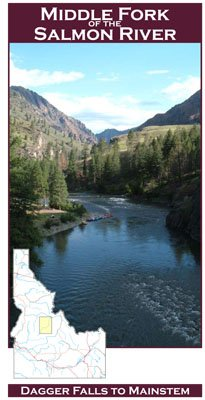 (Middle Fork of the Salmon River 11x17 Fly Fishing Map)