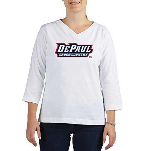 CafePress DePaul Cross Country - Women's Cotton Baseball Jersey, 3/4 Raglan Sleeve Shirt