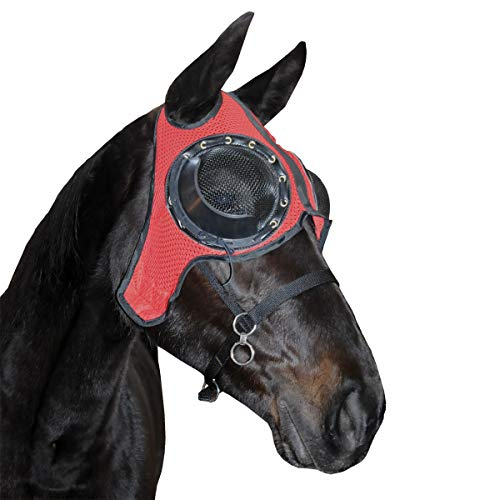 Zilco AIRLITE Hood with MESH Eye Cup Red and Black]()