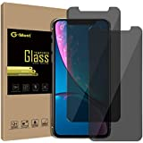 G-Most Privacy Screen Protector for iPhone X/Xs, 2.5D Premium Anti-Spy Tempered Glass Screen Cover Shield Guard for Apple iPhone X/10/Xs (2-Pack)