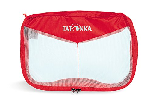 Tatonka Mesh Bag Netzbeutel Red