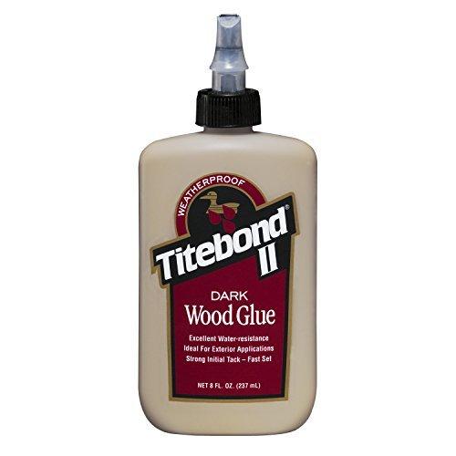 Titebond 3703 Dark Wood Glue Bottle, 8 oz. by Titebond