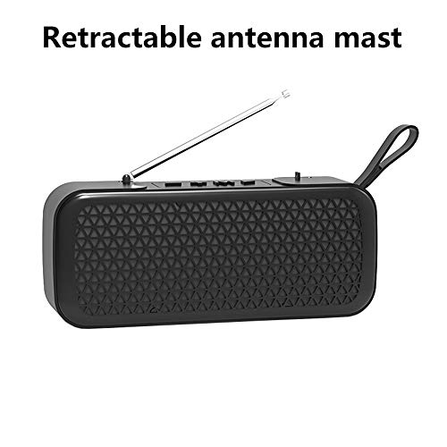 Household appliances Bluetooth Audio FM Radio, Mini Wireless Outdoor Portable, Support TF Extension Support U Disk Expansion AUX Input AOYS by Household appliances (Image #6)