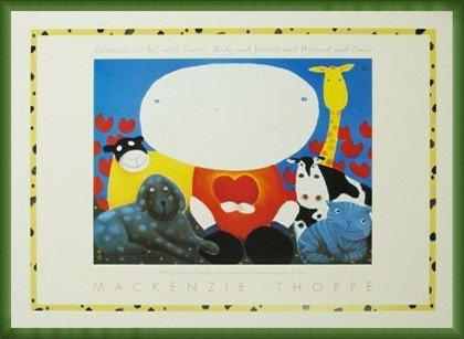 ポスター マッケンジー ソープ Celebration 額装品 ウッドベーシックフレーム(グリーン) B00LCUF912 グリーン グリーン