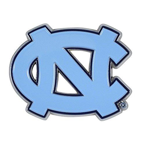 (Fan Mats University of North Carolina Color Chrome Car Emblem)