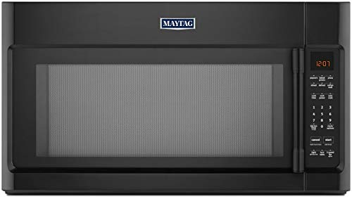 Maytag 30 in. W 2.0 cu. ft. Over the Range Microwave in Black with Sensor Cooking