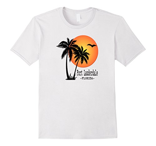 FORT LAUDERDALE Souvenir TShirt Gift Palm Florida Beach - Shop Fort Lauderdale Gift