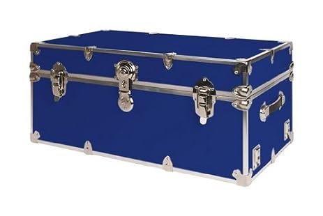 Nice SecureOnCampus College Dorm Storage Trunks / Footlockers Large   Royal Blue