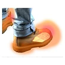 NEW 2 Battery Electric Feet Heated Shoe Boot Insoles Inserts Sock Snow FOOT WARMER