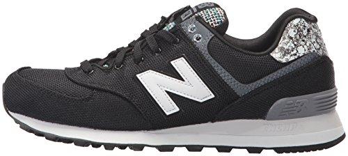 Schuhe Mink 574 New Wl black Balance wl574asb Silver 546nqxRnv