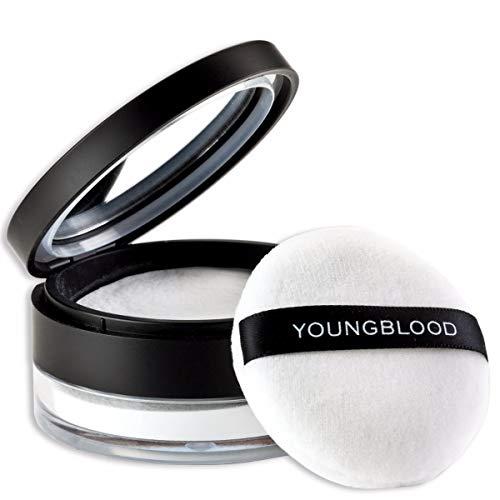 Youngblood Clean Luxury Cosmetics Hi-Def Hydrating Loose Powder, Translucent Shine Control Matte Finishing Translucent Blurring Powder HD Baking Setting Primer Vegan, Cruelty Free