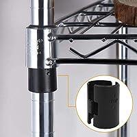 """Shelving Sleeves 54-Packs Wire Shelving Shelf Lock Clips for 1/"""" Diameter Post"""