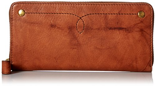 Campus Rivet Zip Wallet Wallet, SADDLE, One Size by FRYE