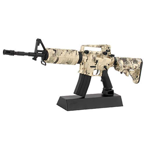 (CEKToys 1£º6 Rifles Sniper Model Gun Metal Plastic Weapons Diecast Kit Decor Alloy Barrett Mini DIY Simulation Sets Fight Replicas Collectable)