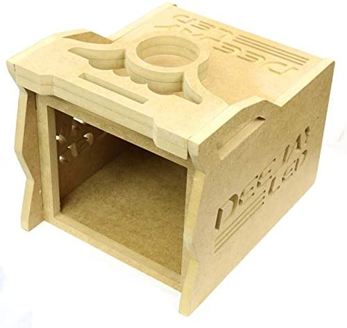 3 EQ Wooden CASE DEEJAYLED 1 DIN