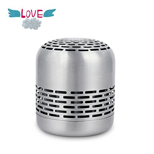 Mini Air Purifier, Small Air Cleaner, Air Fresher, Natural Odor Reducer, Kill Germs, Portable Quiet with CH-cut Technology Ideal for Cabinet, Shoebox, Wardrobe, Fridge, Washbasin, 10 Years' - Noise Hide Never