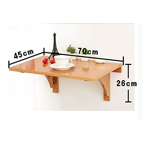 Table a manger murale awesome table murale en bois table for Table a manger murale