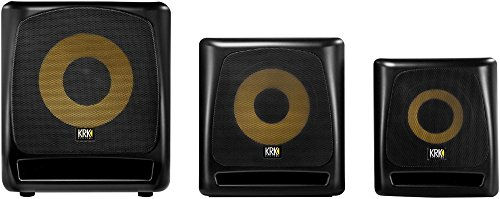 "KRK 10S2 V2 10"" 160 Watt Powered Studio Monitor Subwoofer 3"