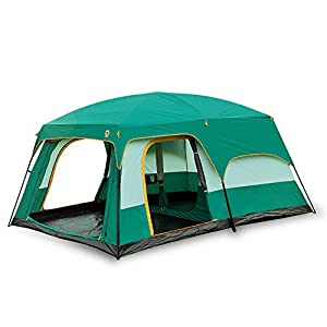Newdora 12 People Straight Wall Cabin Tent2 Room Waterproof Tent C&ing Tent  sc 1 st  Outdoor Recreation & Family Tent Easy Setup | What is the best Family Tent Easy Setup ...