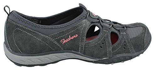Skechers Breathe-Easy Carefree - zapatilla deportiva de material sintético mujer Charcoal