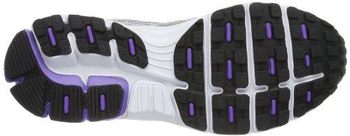 Lotto ZENITH III W - Zapatillas de correr de material sintético mujer gris - Grau (MET SIL/VIOLET)