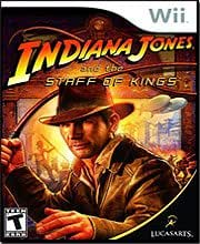 New Lucasarts Entertainment Indiana Jones & The Staff Of Kings Nintendo Wii Popular High Quality