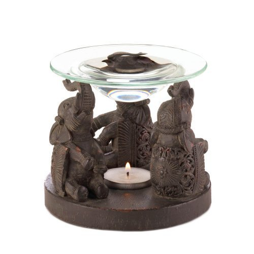 Zingz and Thingz Elephant Oil Warmer