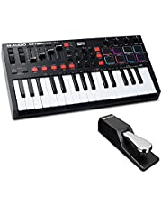 $144 » MIDI Controller Bundle Key USB MIDI Keyboard Controller with Beat Pads, Sustain Pedal and Software Suite - M-Audio Oxygen Pro