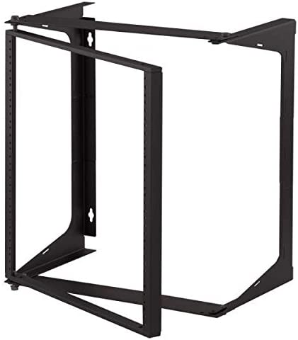 C2G Cables To Go 14617 11U Swing Out Wall Mount Open Frame Rack 25 Deep